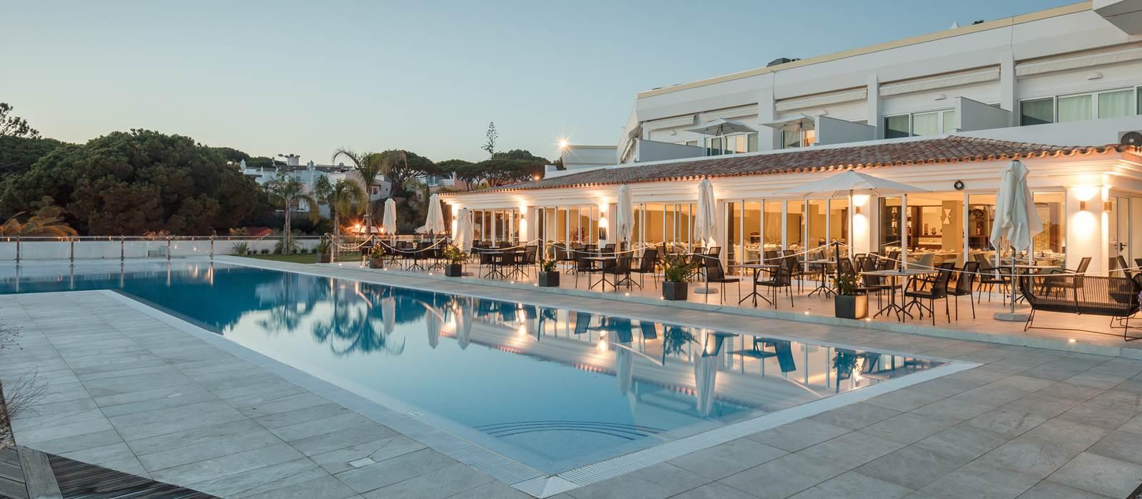 Heated Outdoor Pool Dona Filipa Hotel