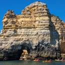 Kayaking in the Algarve