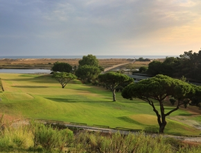 Panoramic view of Pinheiros Altos Golf Course